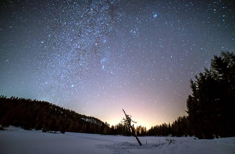 Astrotrekking in Trentino a Malga del Doss
