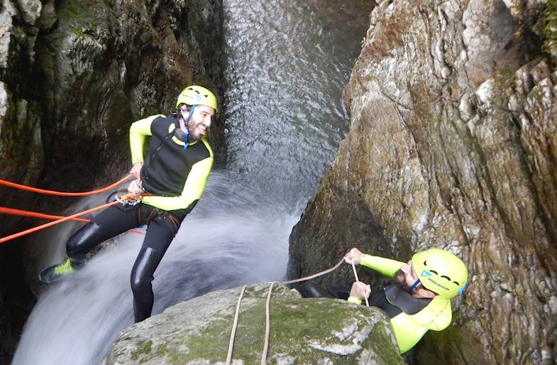 Canyoning a Lucca