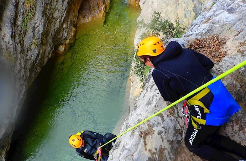 Canyoning sul Lago di Garda