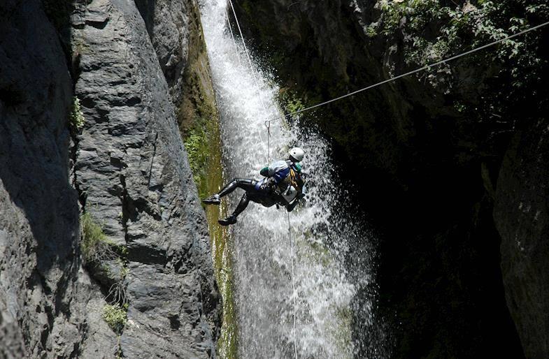 Canyoning tra Lazio ed Umbria