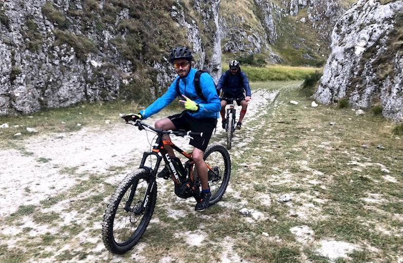 E-Bike Tour in Abruzzo sul Gran Sasso