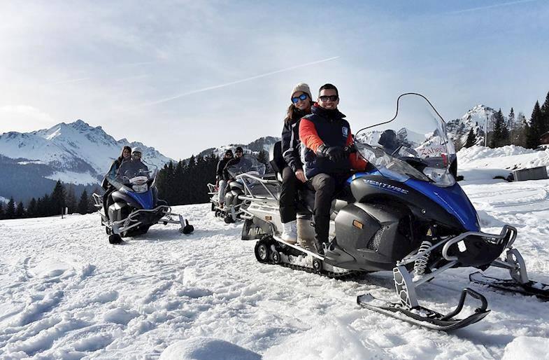 Tour in Motoslitta sulle Alpi