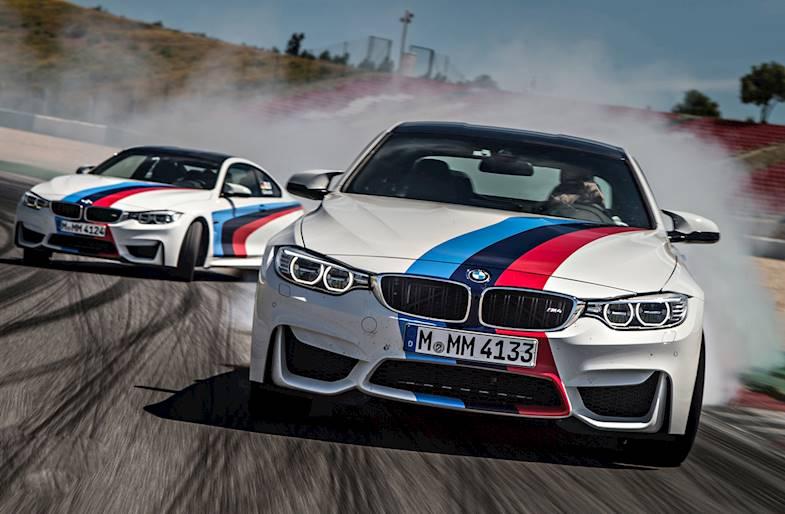 Giornata intera di prove libere su BMW M3