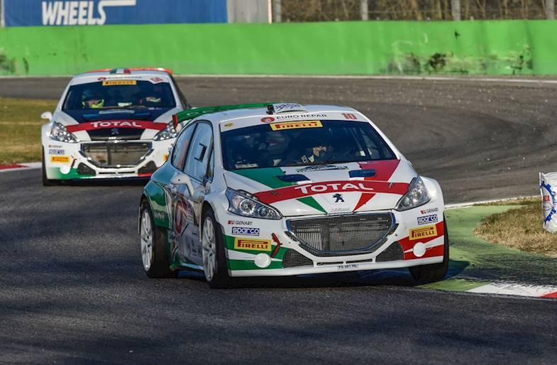 Giri in pista su Peugeot 208 R2 a Milano