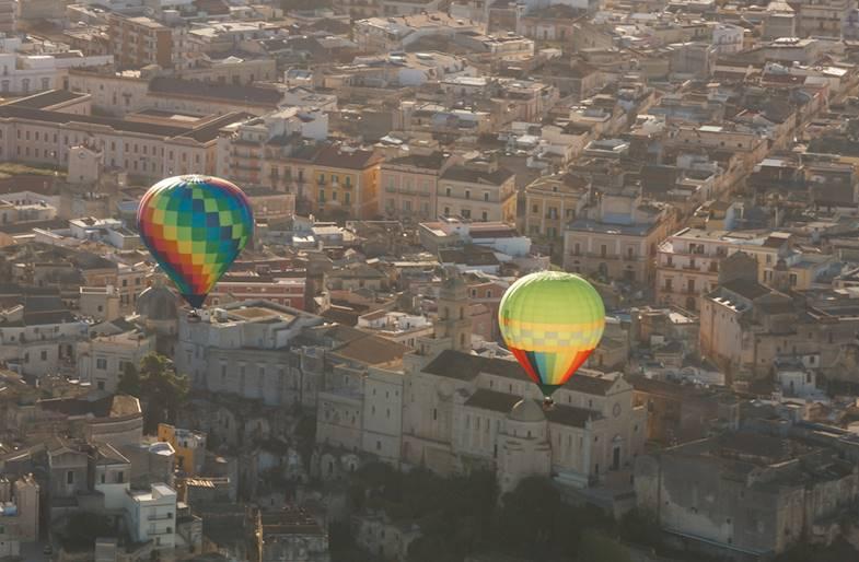 Giro in mongolfiera Bari