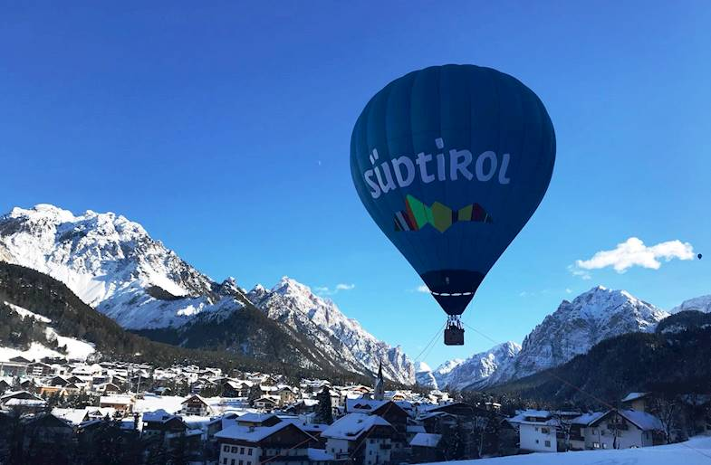Giro in Mongolfiera Trentino Alto Adige