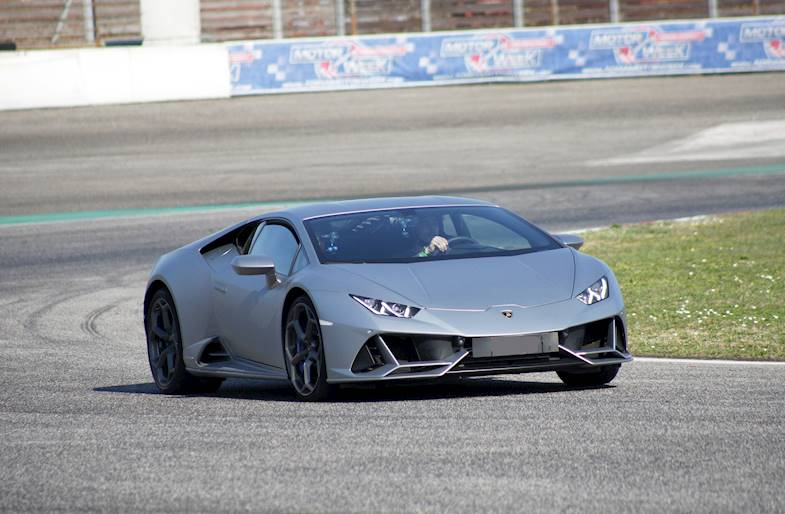Guida una Lamborghini Huracan Evo su 6 circuiti