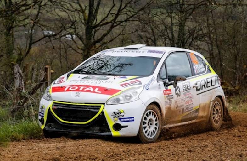 Guida una Peugeot 208 R2 su un circuito da Rallya