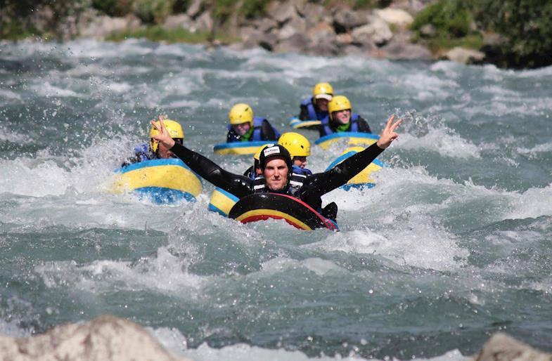 Hydrospeed in Valtellina