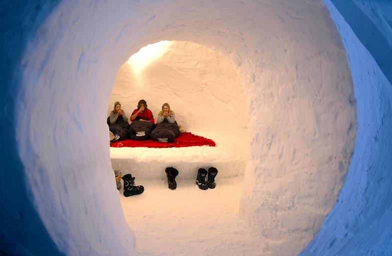 Igloo Experience in Umbria