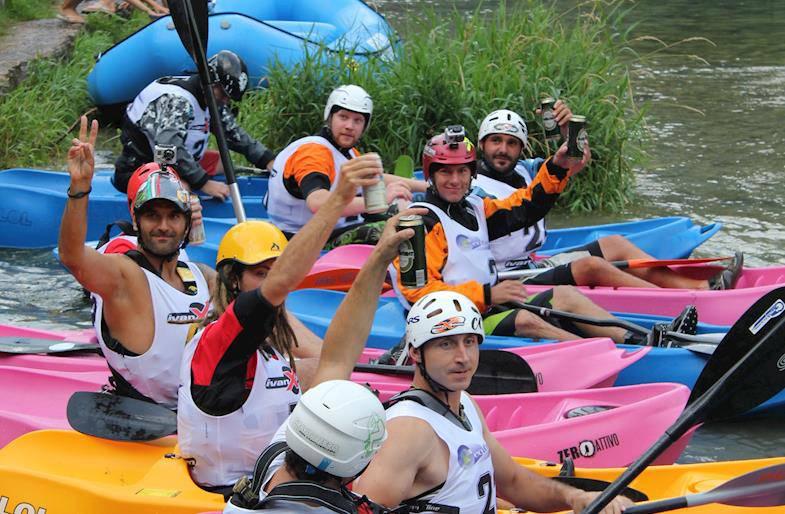 Kayak Fun in Valtellina