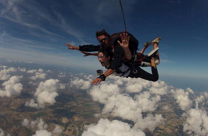 Lancio Tandem con Paracadute in Basilicata