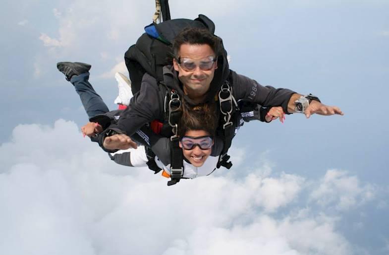 Lancio con paracadute a Roma nel Lazio in Tandem