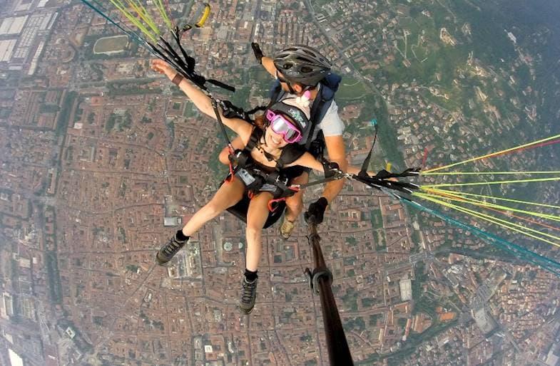 Volo in Parapendio Bergamo e Lecco