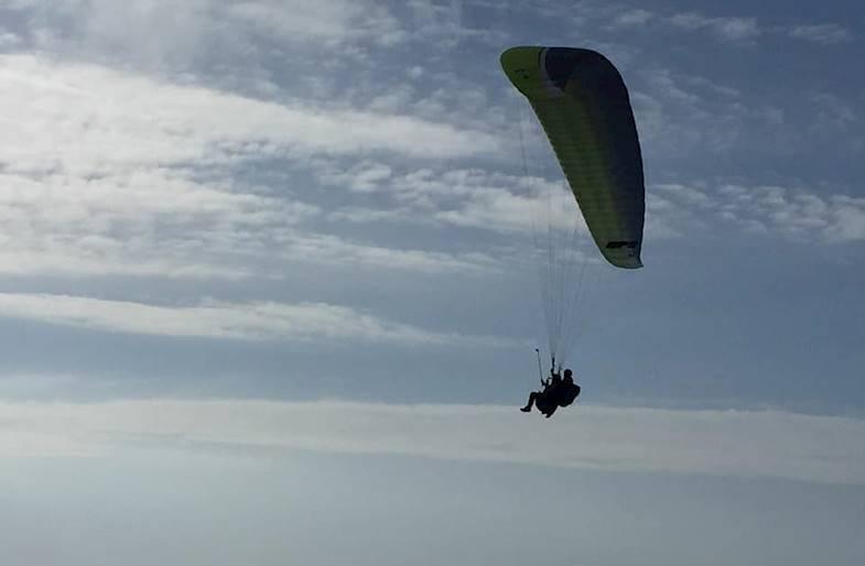 Volo in Parapendio nel Cilento