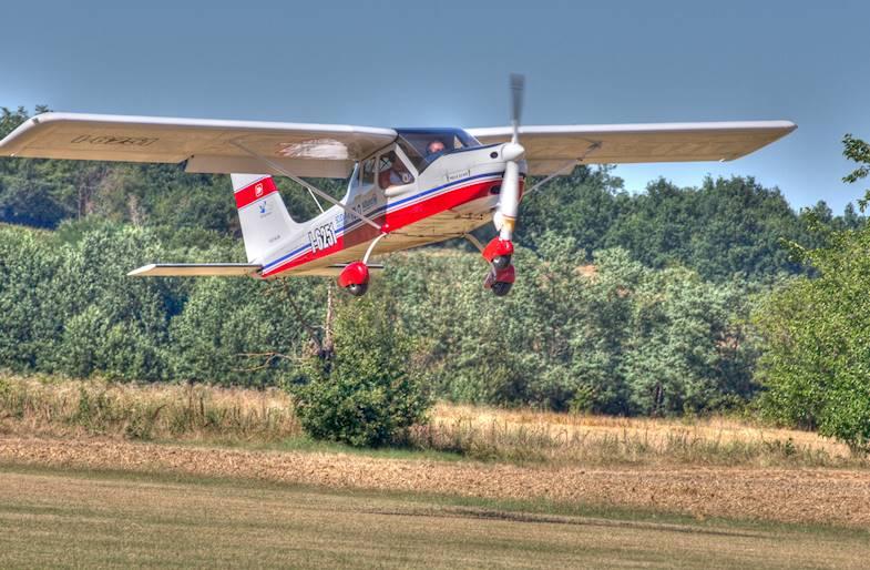 Pilotare un Ultraleggero su Asti e il Monferrato in Piemonte