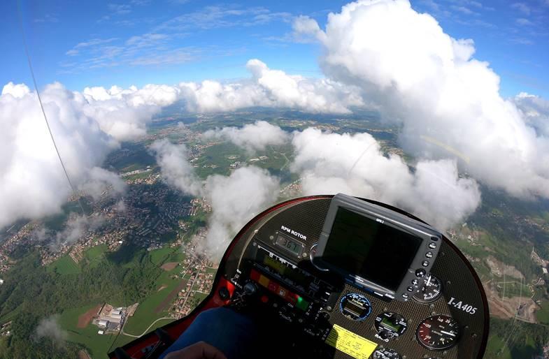 Pilotare un Autogiro a Como in Lombardia
