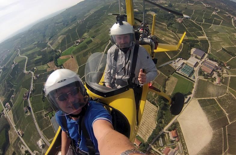 Pilotare un Autogiro a Motore a Torino