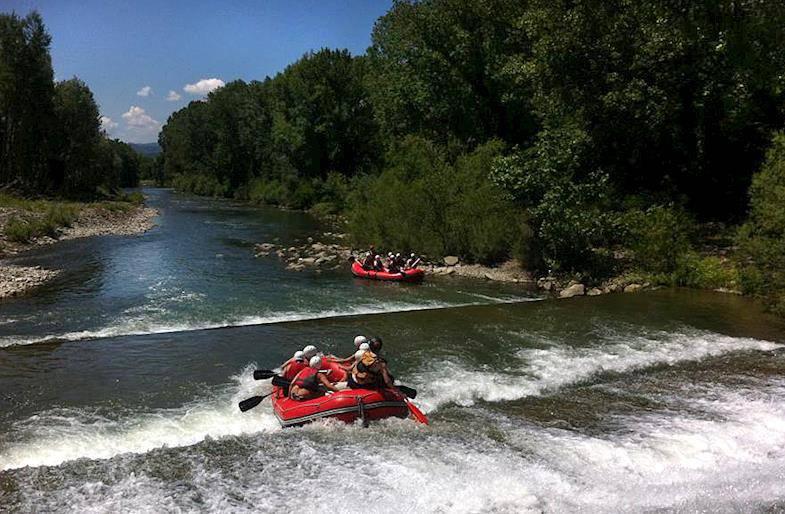 Rafting a Firenze sul fiume Arno e in Toscana sul Sieve