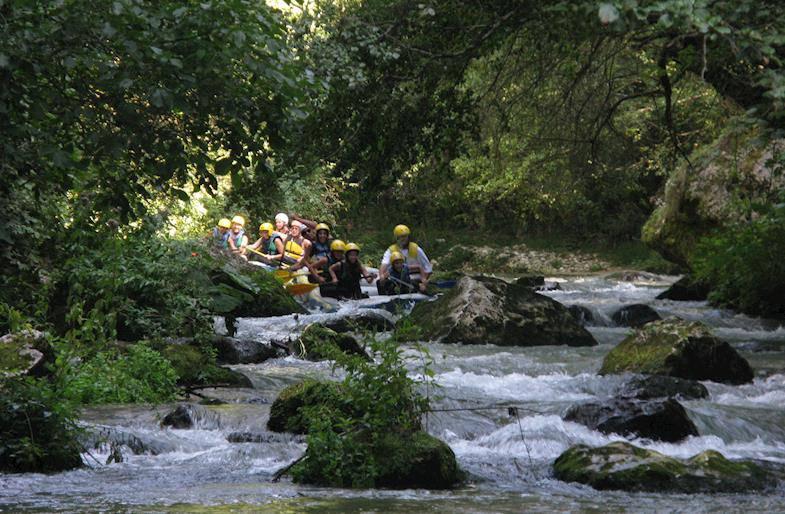 Rafting in Valnerina