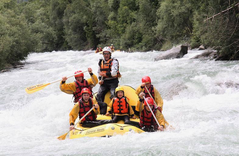 Rafting in Trentino Alto Adige