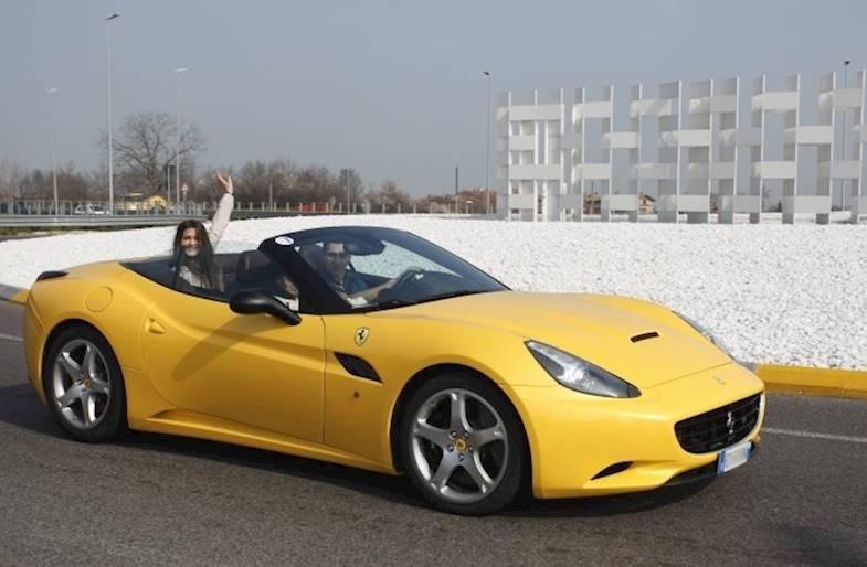 Test Drive su Ferrari California a Maranello