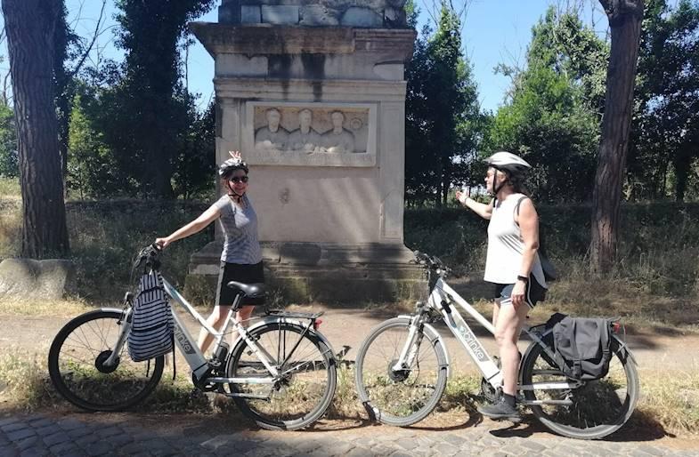 Tour in E-Bike da Roma a Castel Gandolfo