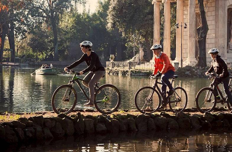 Tour in E-Bike a Villa Borghese