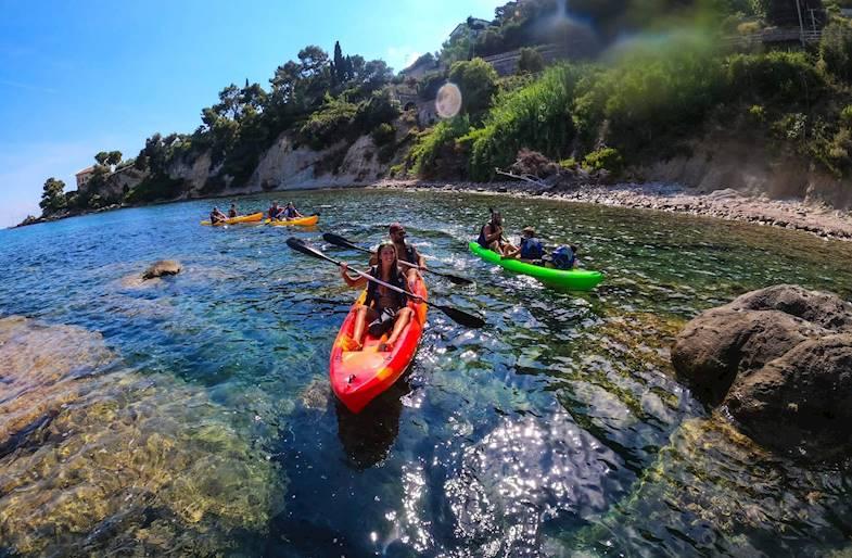 Tour guidato in Kayak a Ventimiglia in Liguria