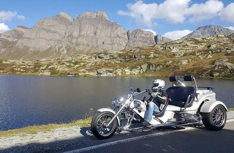 Tour guidato in Trike sul Lago di Garda