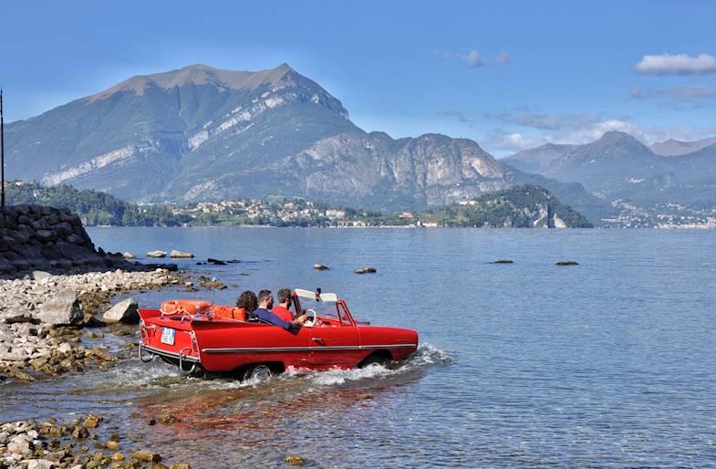 Tour in Auto Anfibia sul Lago di Como