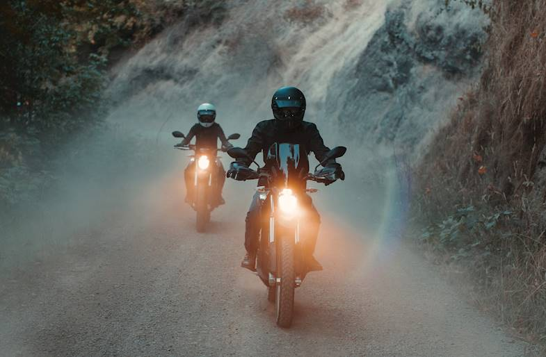 Tour in Moto Elettrica ZERO sul Lago di Garda