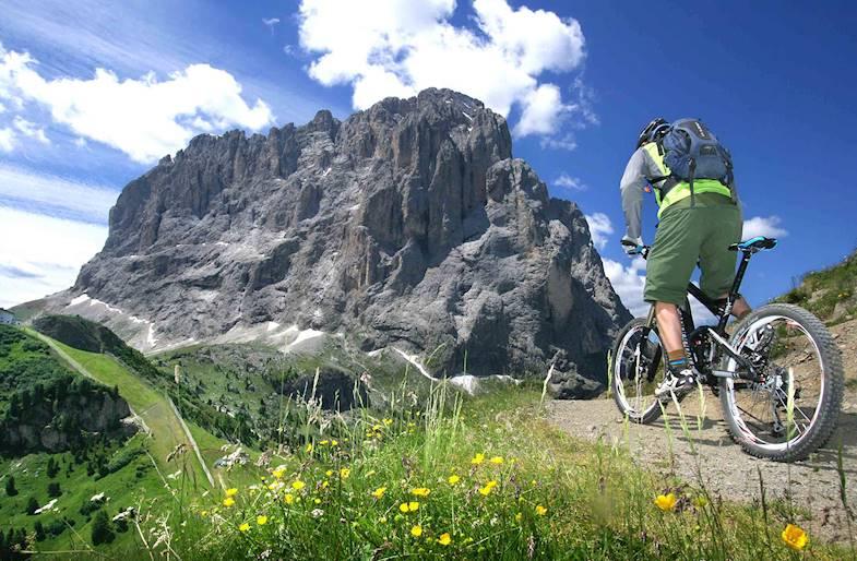 Tour in Mountain Bike al Passo del Tonale in Trentino
