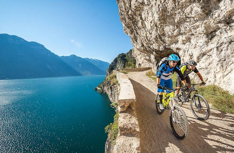 Tour in Mountain Bike sul Lago di Garda