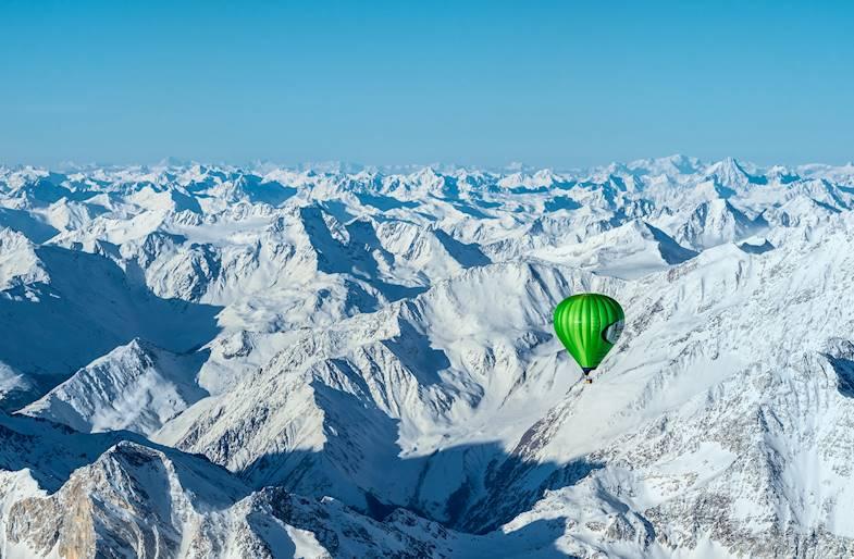 Traversata delle Alpi in Mongolfiera