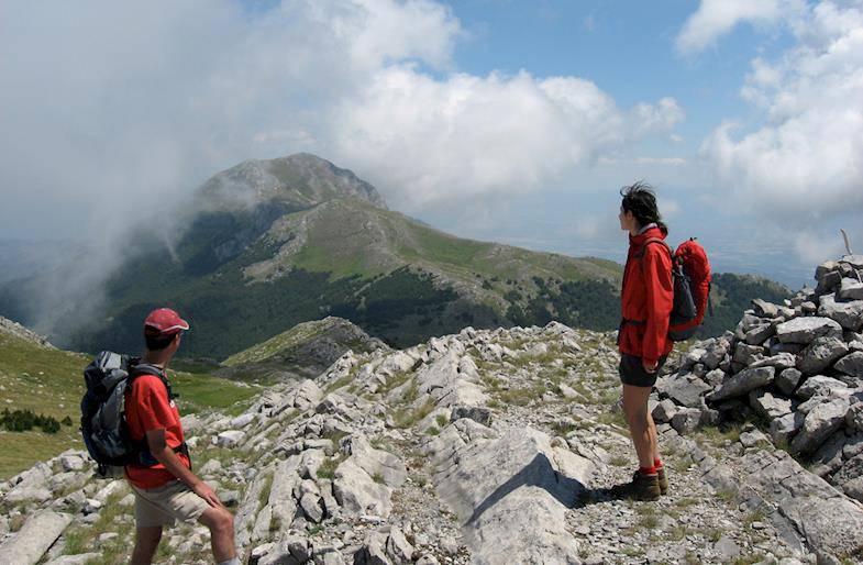 Trekking sul Monte Pollino
