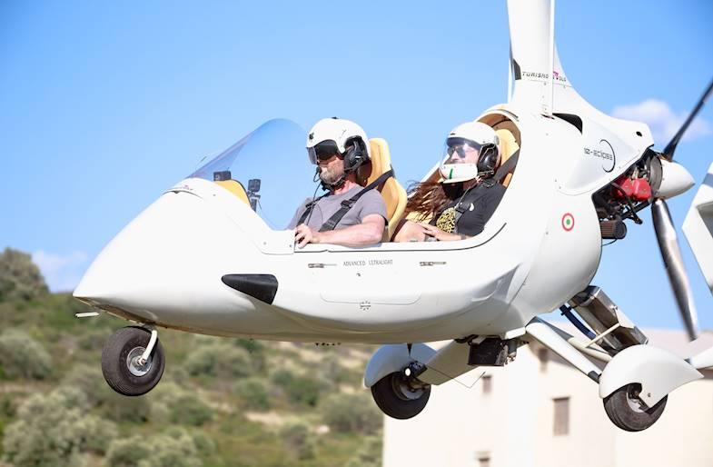 Volo in Autogiro a Matera in Basilicata
