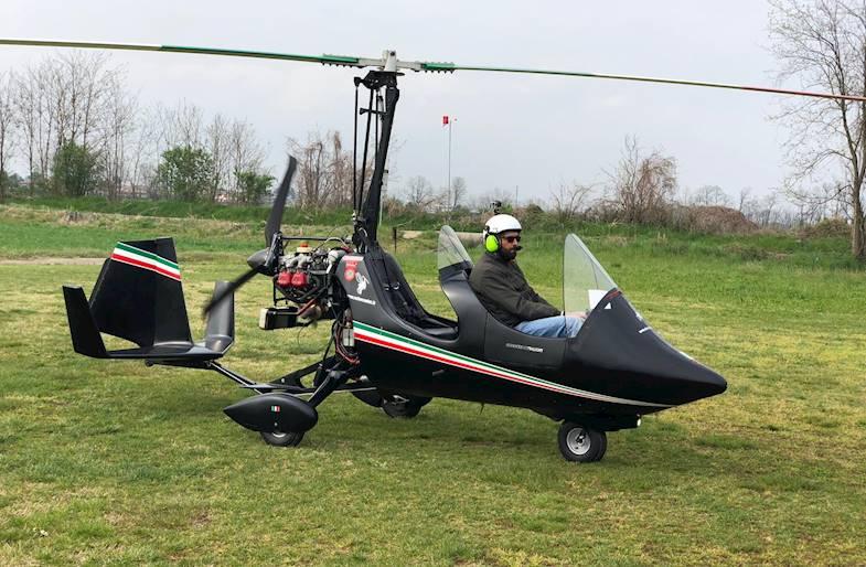 Volo in Autogiro sul Lago d'Iseo