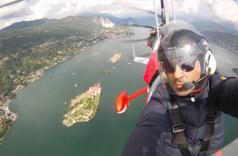 Volo in Autogiro sul Lago di Como