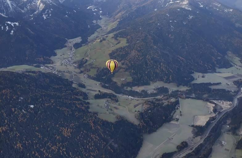 Volo privato in Mongolfiera in Trentino Alto Adige