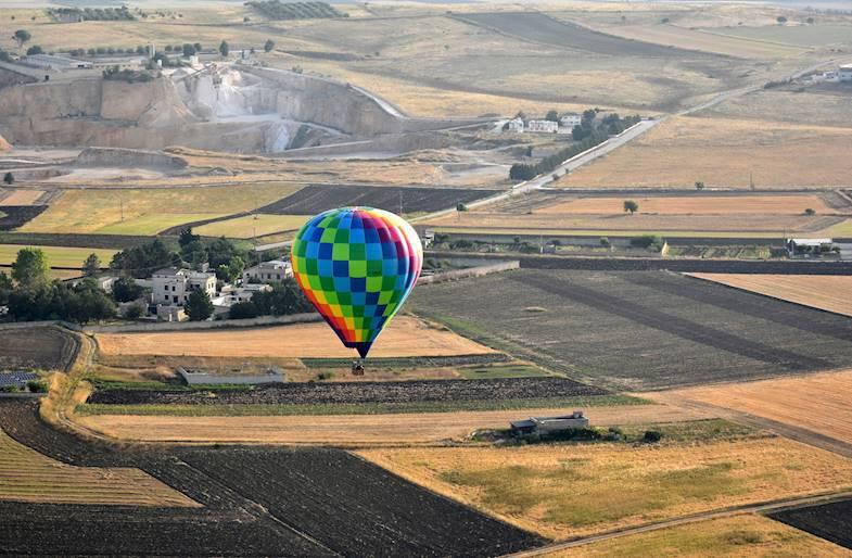 Volo in Mongolfiera sui Calanchi Lucani
