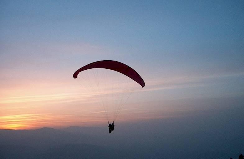 Volo in parapendio Abruzzo