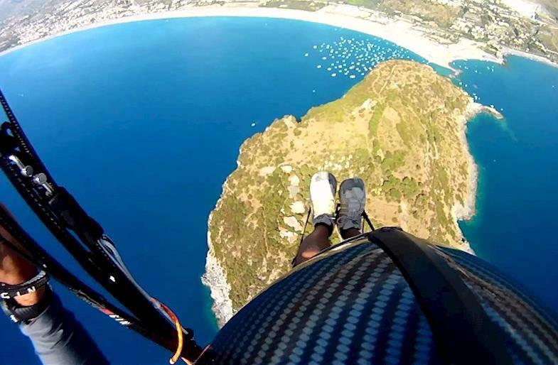 Volo in Parapendio Sardegna