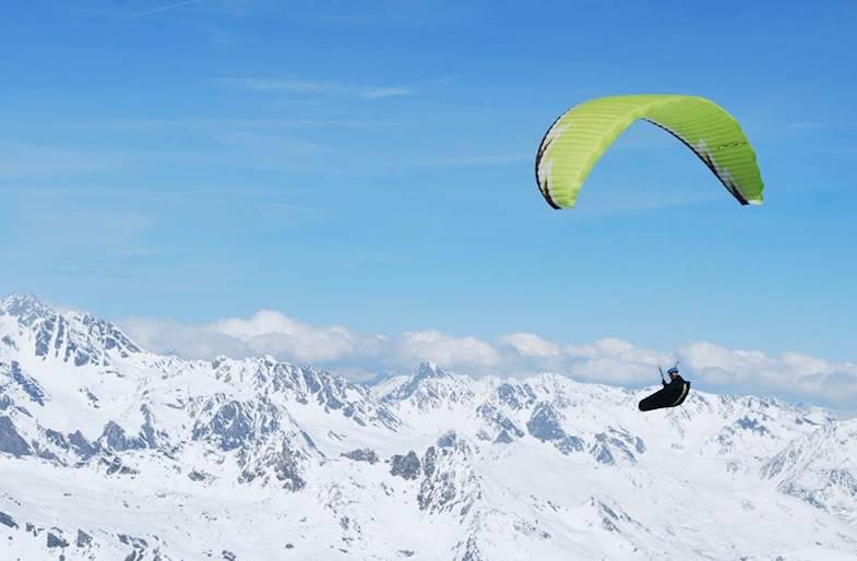 Volo in parapendio Biposto Valle d'Aosta