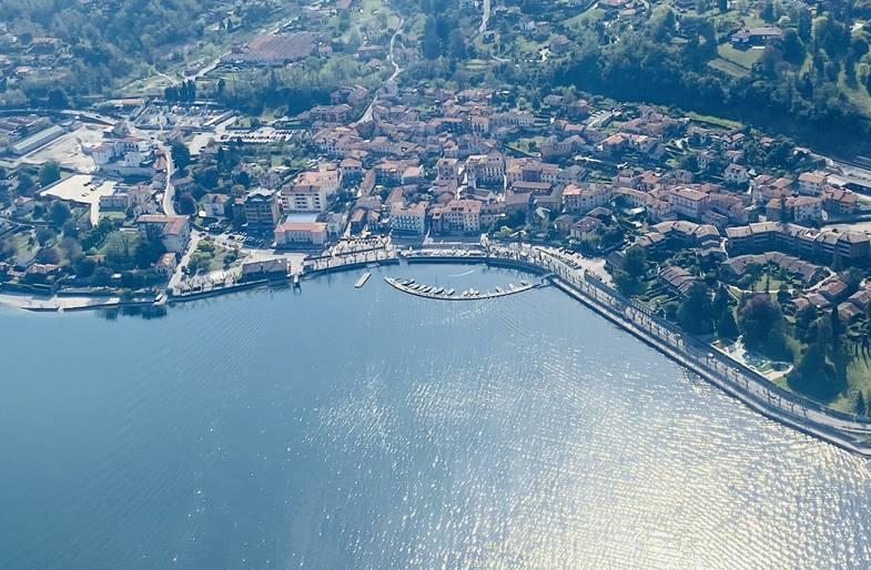 Volo in Ultraleggero da Piacenza al Lago di Iseo