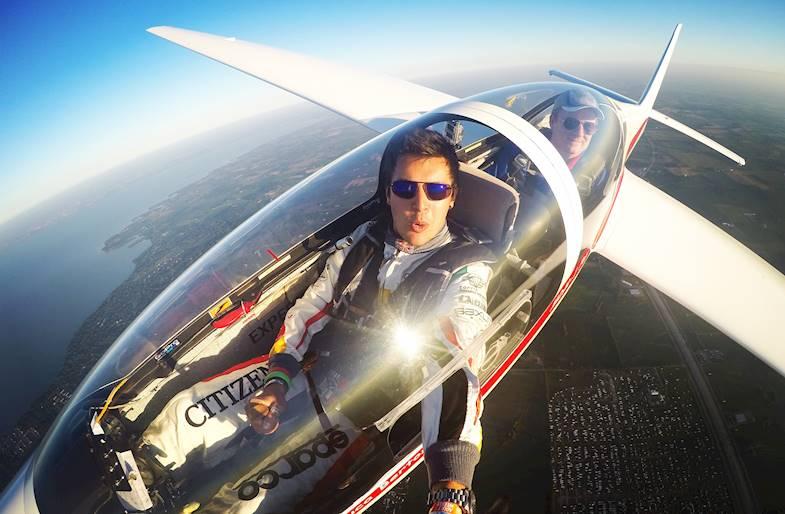 Volo in Aliante con Luca Bertossio